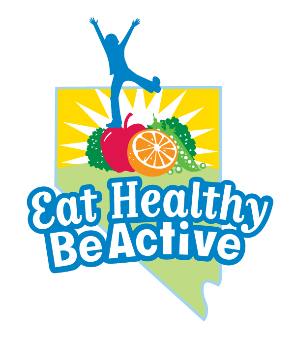 eat healthy be active logo